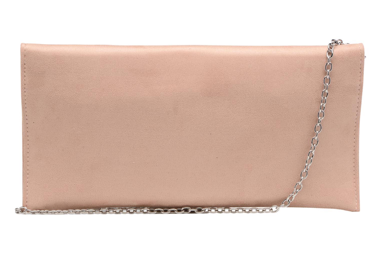 Handbags Menbur Pochette suédée S Pink front view
