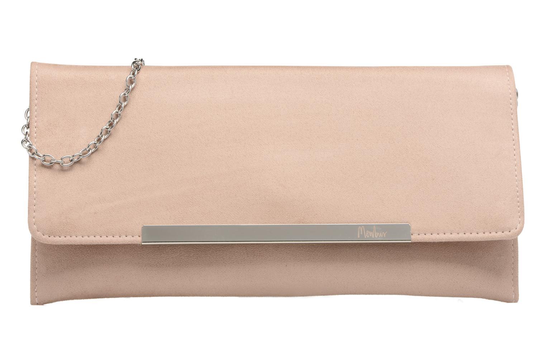 Handbags Menbur Pochette suédée S Pink detailed view/ Pair view