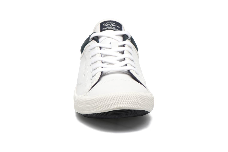 Baskets Pepe jeans Britt Action Blanc vue portées chaussures