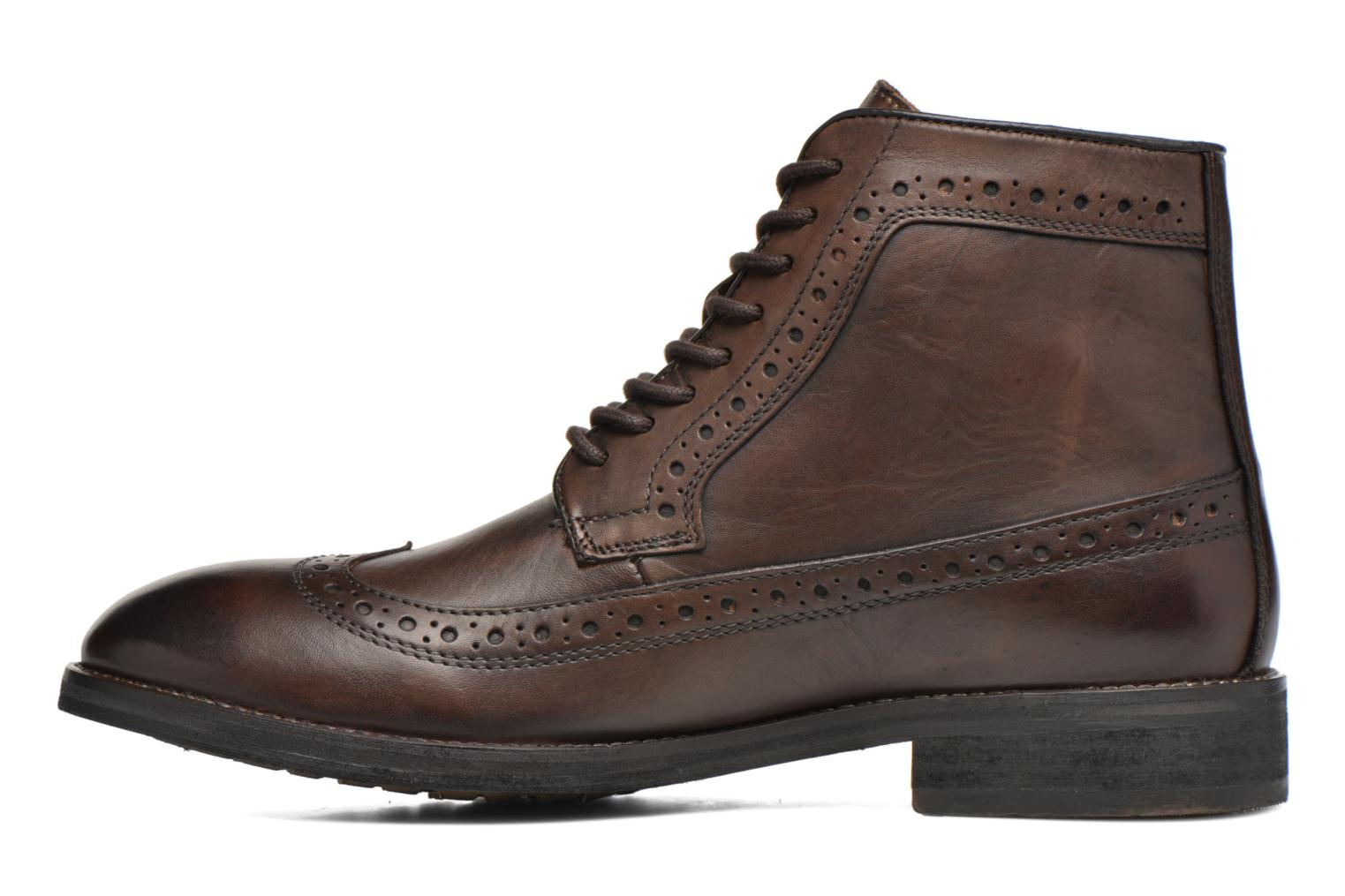 Bottines et boots Pepe jeans Hackney Wing Tip Boot Marron vue face