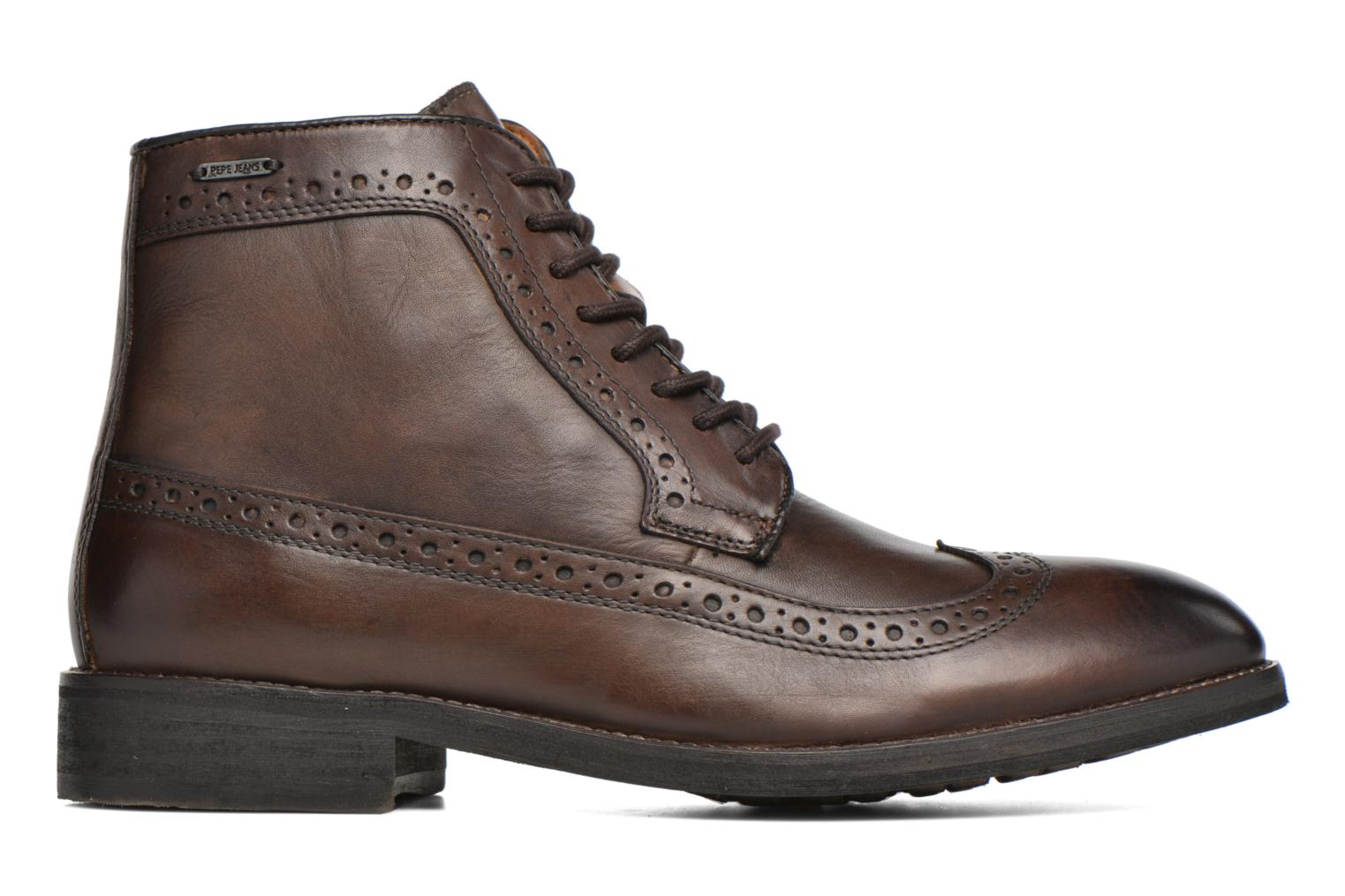 Bottines et boots Pepe jeans Hackney Wing Tip Boot Marron vue derrière