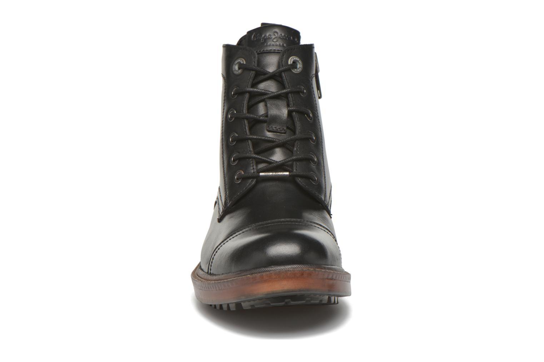 Bottines et boots Pepe jeans Vivek Boot Noir vue portées chaussures