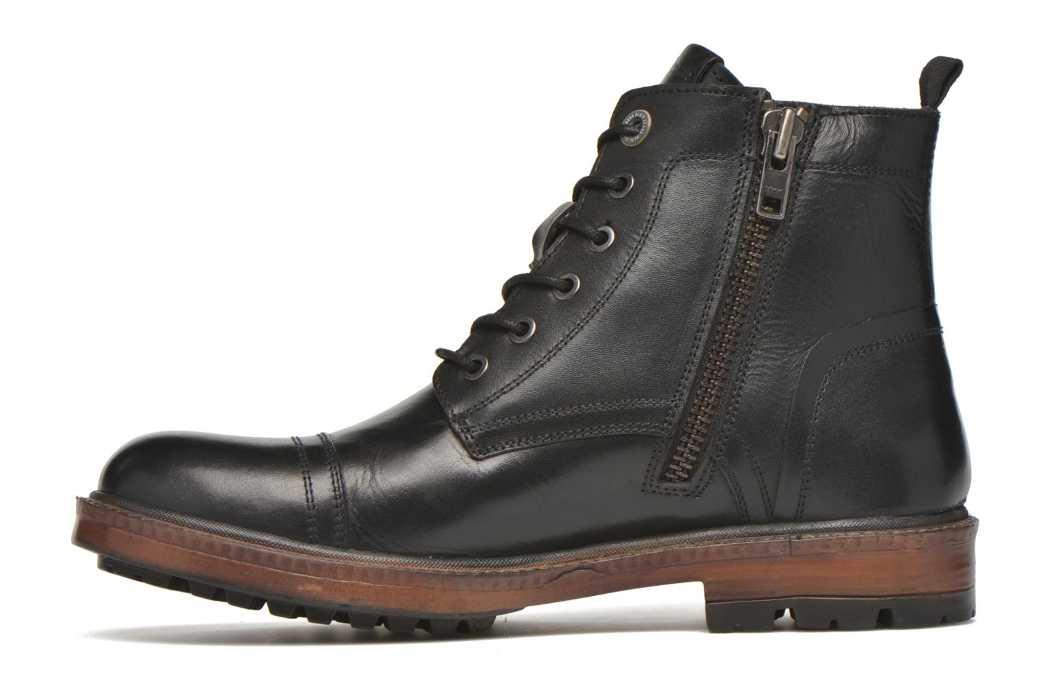 Ankle boots Pepe jeans Vivek Boot Black front view