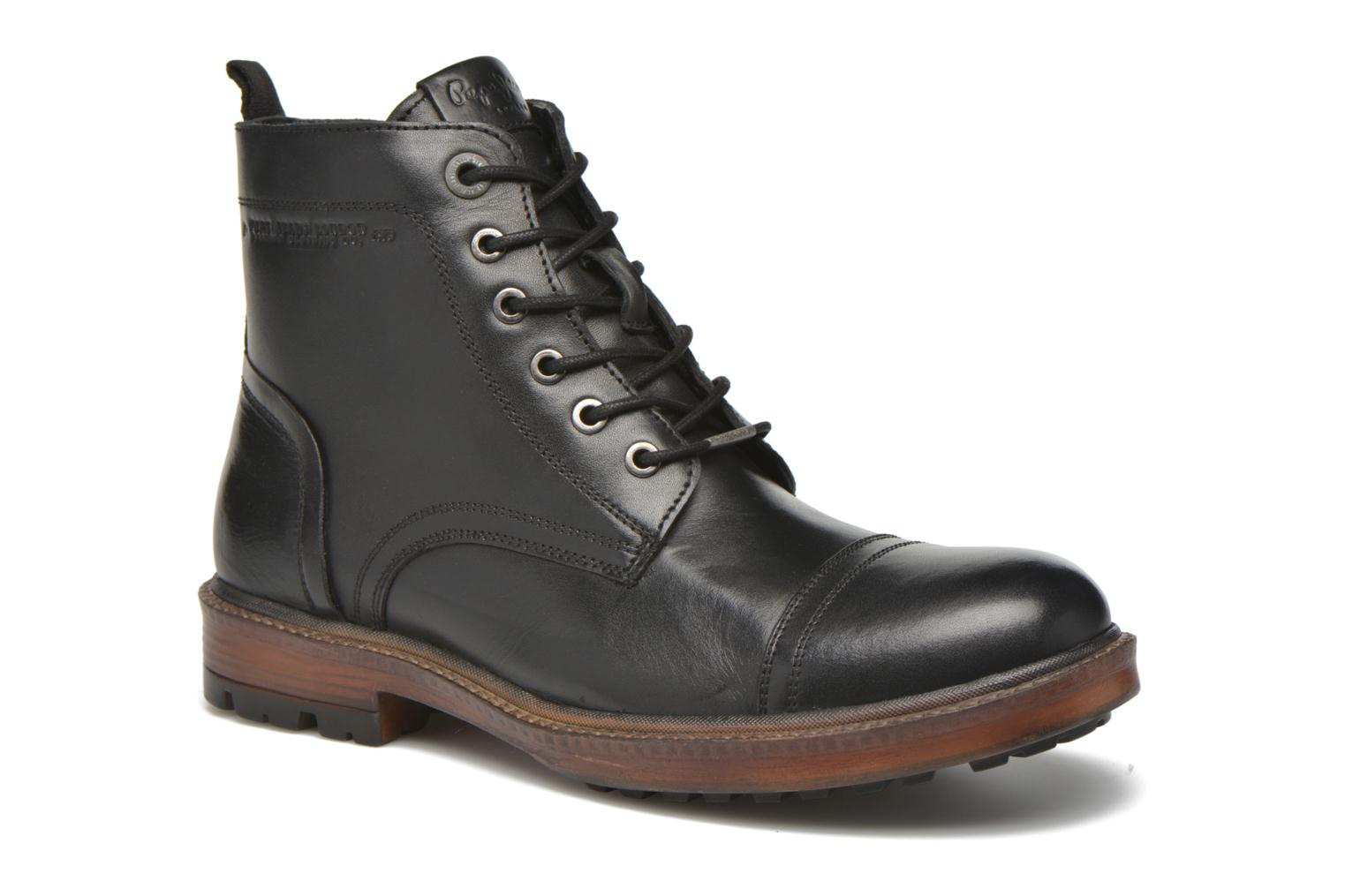 Ankle boots Pepe jeans Vivek Boot Black detailed view/ Pair view