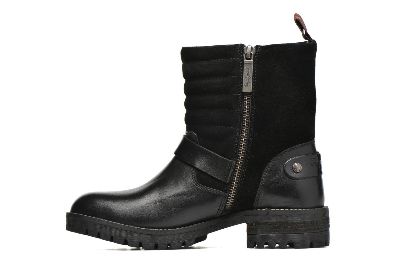 Bottines et boots Pepe jeans Helen Padded Noir vue face