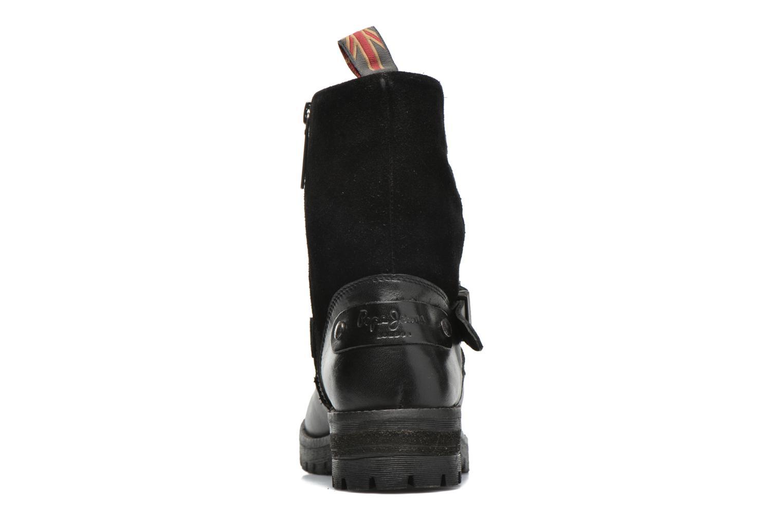 Bottines et boots Pepe jeans Helen Padded Noir vue droite