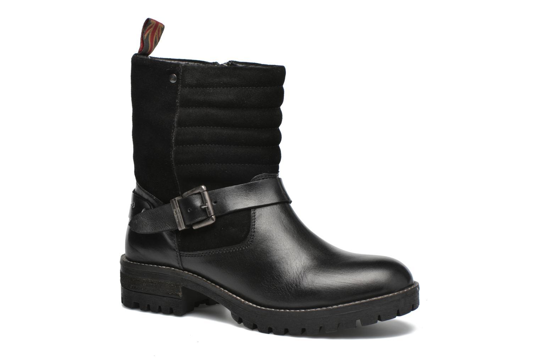 Grandes descuentos últimos zapatos Pepe jeans Helen Padded (Negro) - Botines  Descuento