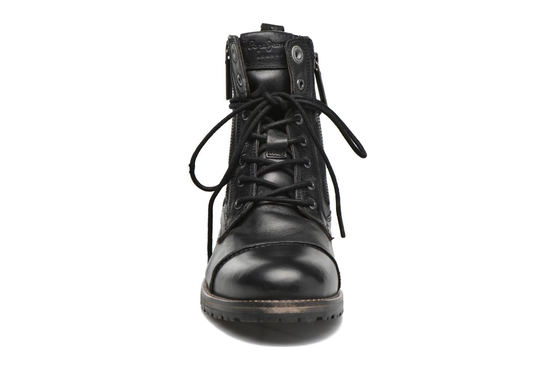 Bottines et boots Pepe jeans Melting W. Zipper Noir vue portées chaussures
