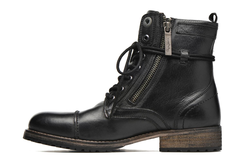 Bottines et boots Pepe jeans Melting W. Zipper Noir vue face