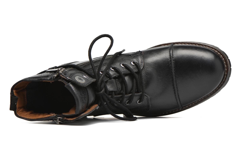 Bottines et boots Pepe jeans Melting W. Zipper Noir vue gauche