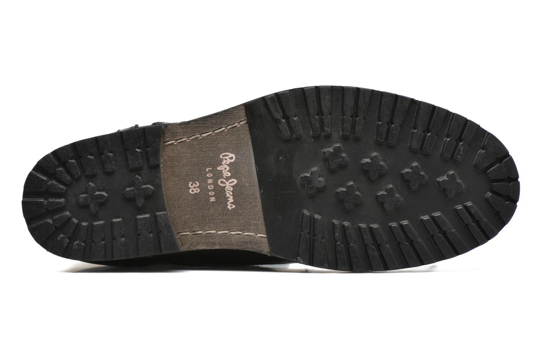 Bottines et boots Pepe jeans Melting W. Zipper Noir vue haut