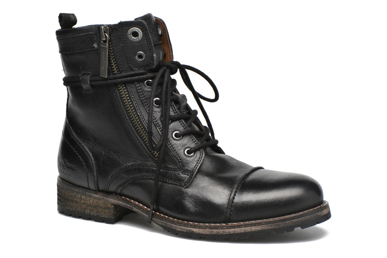Bottines et boots Pepe jeans Melting W. Zipper Noir vue détail/paire