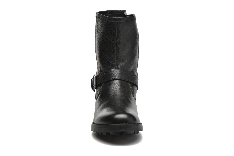 Bottines et boots Pepe jeans Agra Solid Noir vue portées chaussures