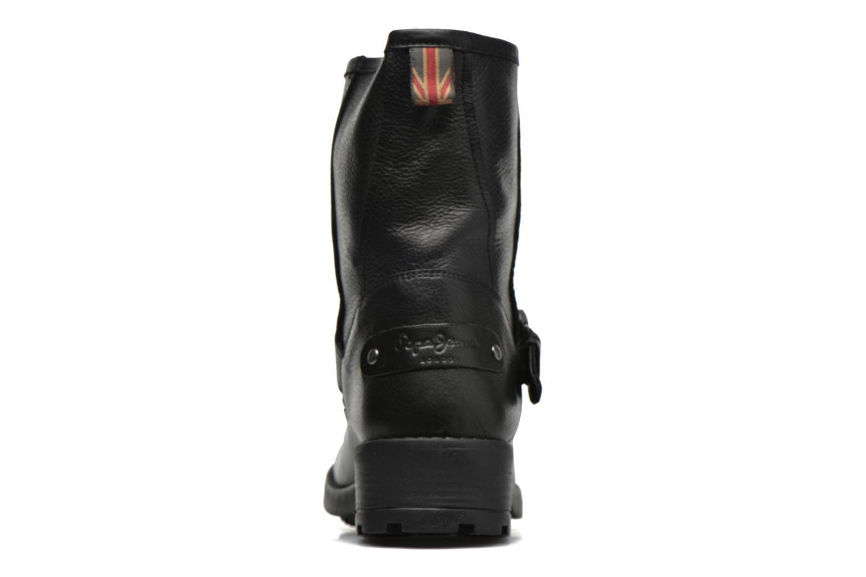Stiefeletten & Boots Pepe jeans Agra Solid schwarz ansicht von rechts