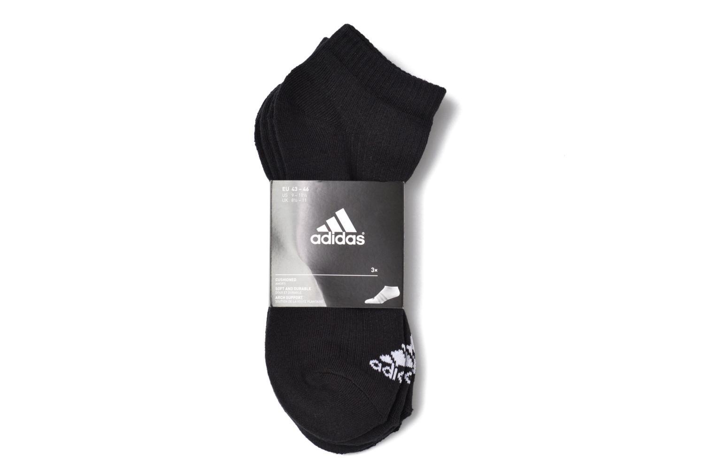 Chaussettes et collants Adidas Performance 3S PER N-S HC3P Noir vue derrière
