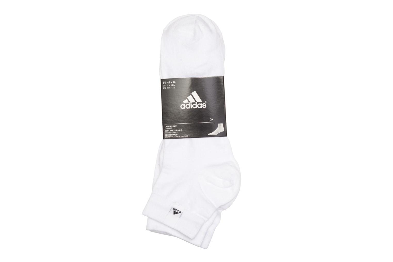 Socken & Strumpfhosen Adidas Performance PER LA ANKLE 3P weiß schuhe getragen