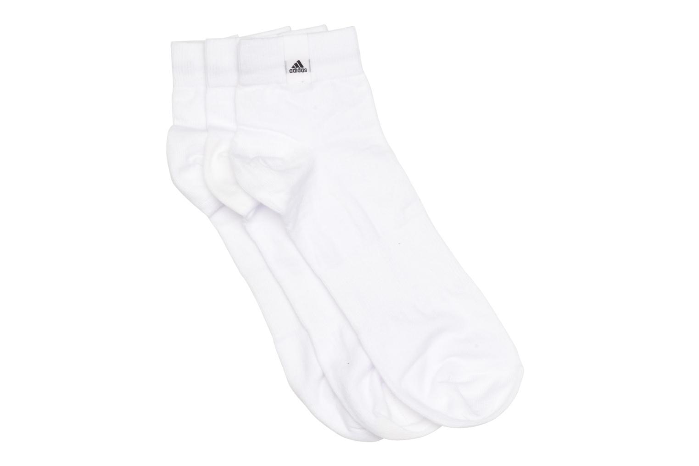 Chaussettes et collants Adidas Performance PER LA ANKLE 3P Blanc vue détail/paire