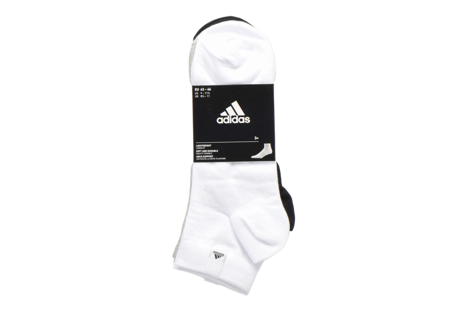 PER LA ANKLE 3P WHITE/MEDIUM GREY HEATHER/BLACK