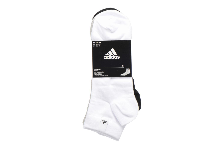 Socken & Strumpfhosen Adidas Performance PER LA ANKLE 3P mehrfarbig ansicht von hinten