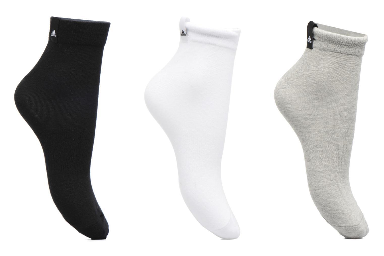 Chaussettes et collants Adidas Performance PER LA ANKLE 3P Multicolore vue détail/paire