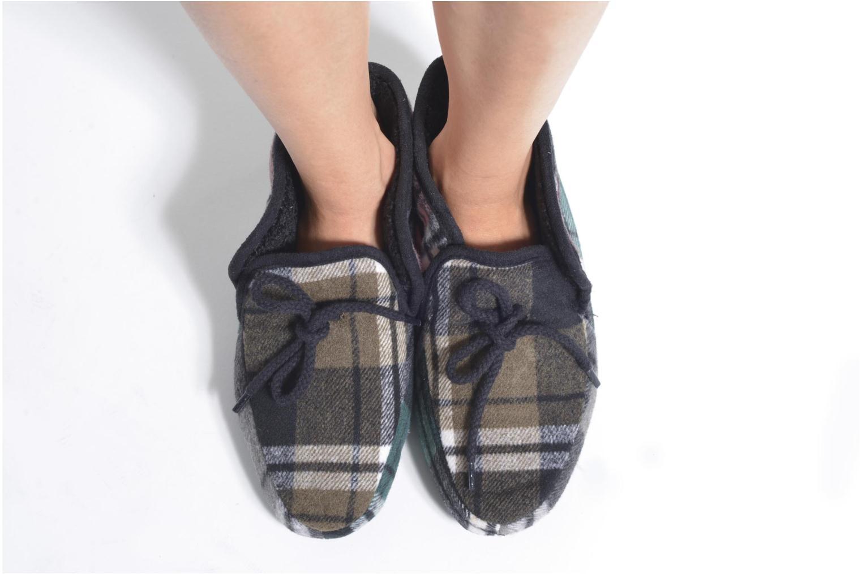 Chaussons Ruby Brown Sian Multicolore vue bas / vue portée sac