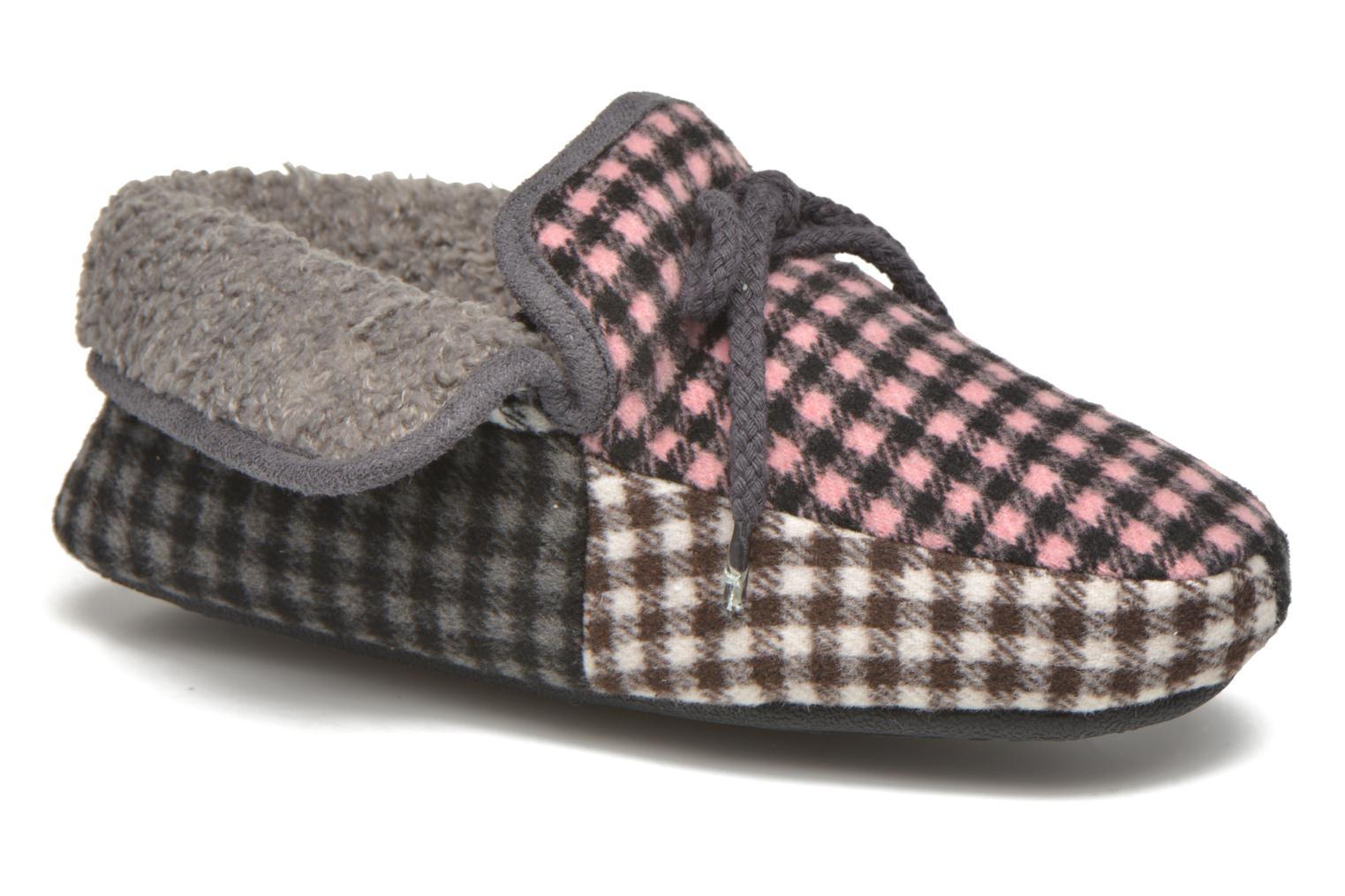 Slippers Ruby Brown Sian Multicolor detailed view/ Pair view