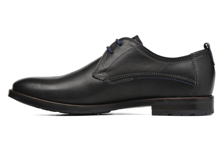 Chaussures à lacets Sioux Scivio-HW Noir vue face