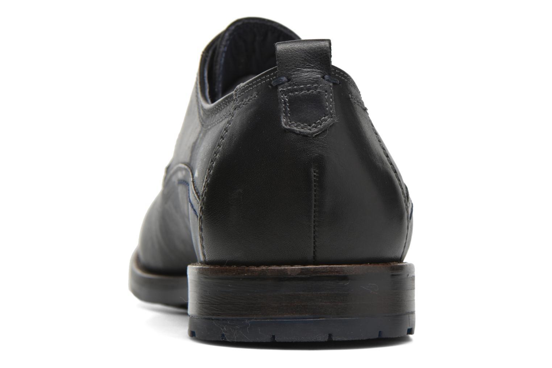 Chaussures à lacets Sioux Scivio-HW Noir vue droite