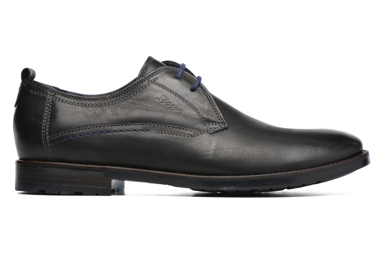 Chaussures à lacets Sioux Scivio-HW Noir vue derrière