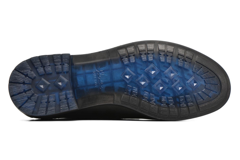 Chaussures à lacets Sioux Scivio-HW Noir vue haut