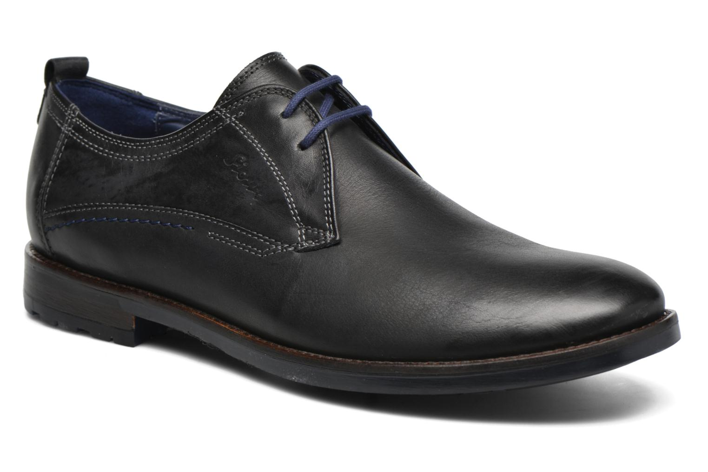 Chaussures à lacets Sioux Scivio-HW Noir vue détail/paire