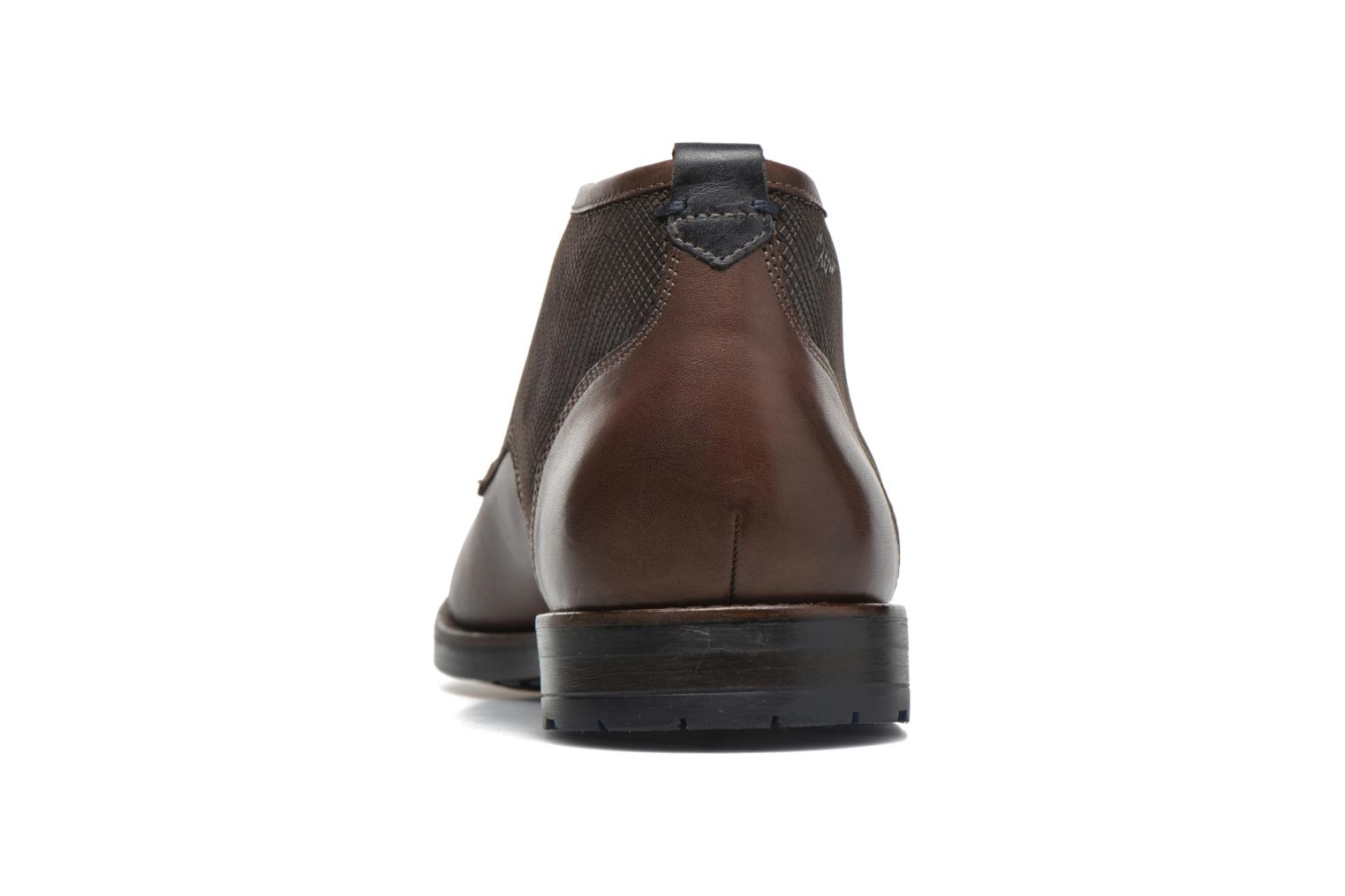 Lace-up shoes Sioux Scurio-HW Brown view from the right