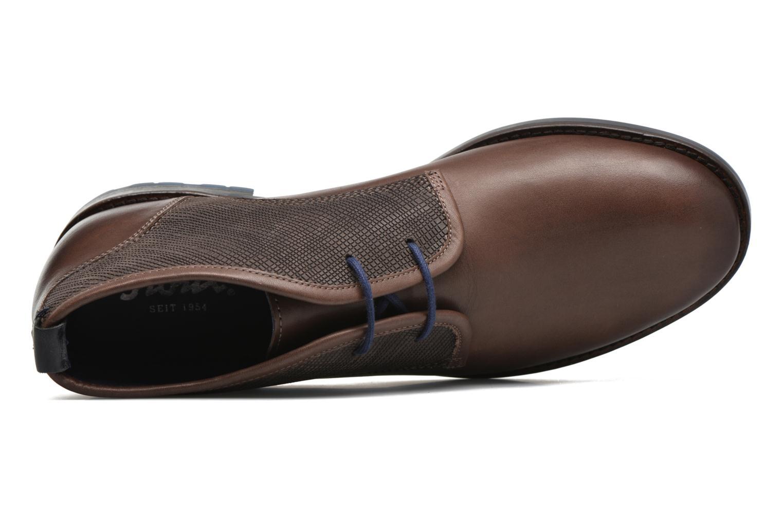 Chaussures à lacets Sioux Scurio-HW Marron vue gauche