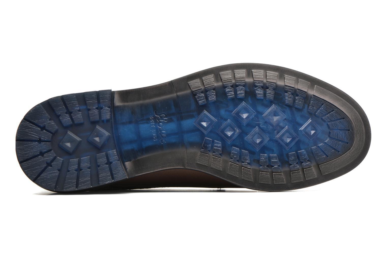 Chaussures à lacets Sioux Scurio-HW Marron vue haut