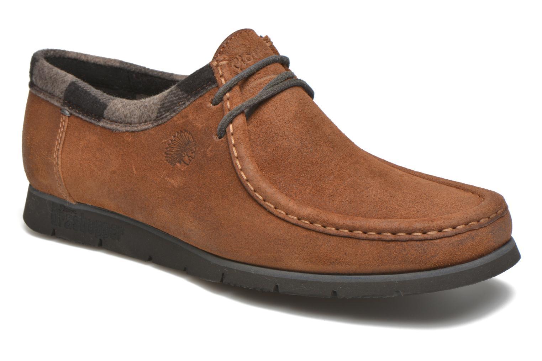 Loafers Sioux Grash-H162-06 Brun detaljerad bild på paret