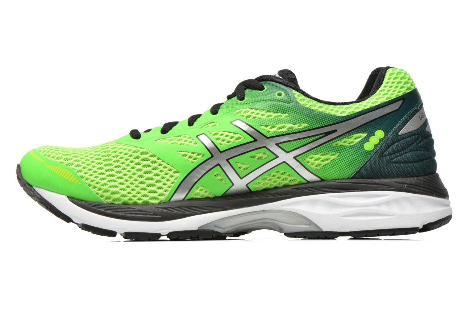 Sport shoes Asics Gel-Cumulus 18 Green front view