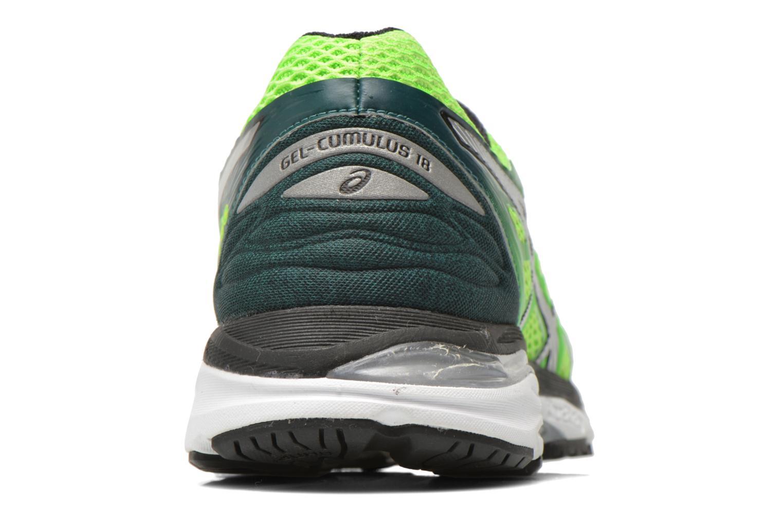 Chaussures de sport Asics Gel-Cumulus 18 Vert vue droite