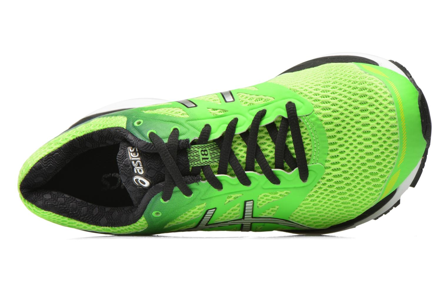 Sport shoes Asics Gel-Cumulus 18 Green view from the left