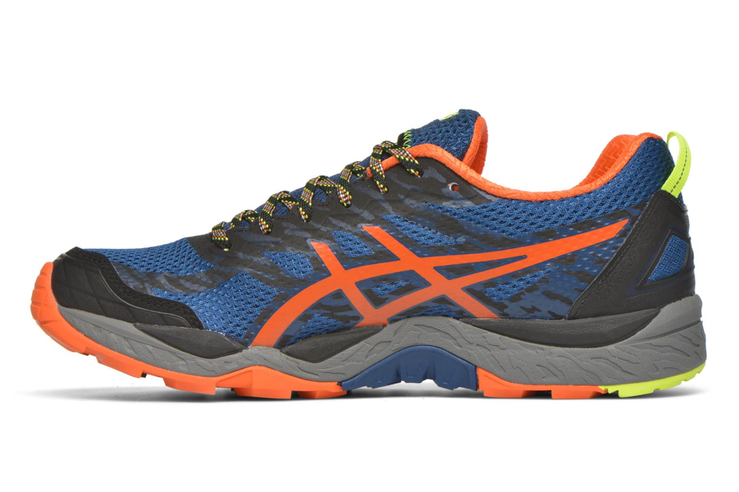Sport shoes Asics Gel-Fujitrabuco 5 Blue front view
