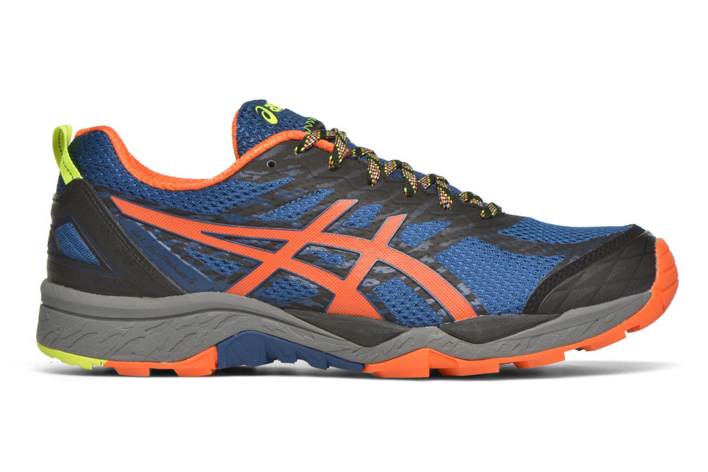 Sport shoes Asics Gel-Fujitrabuco 5 Blue back view