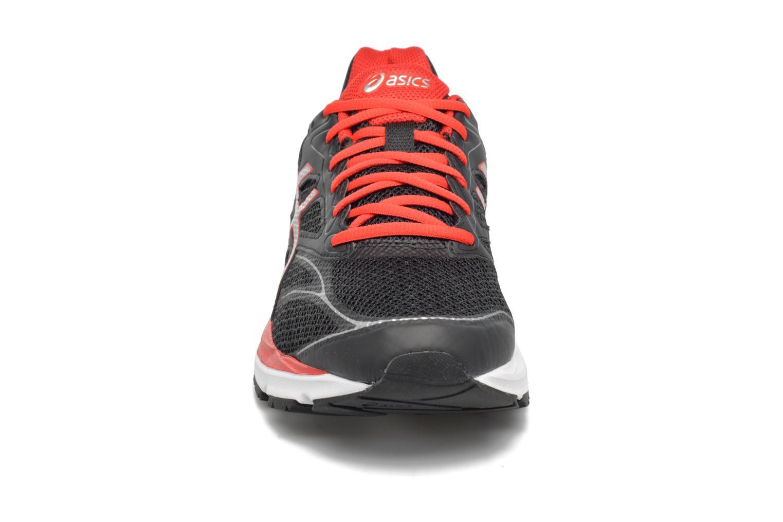 Sportschuhe Asics Gel-Pulse 8 schwarz schuhe getragen