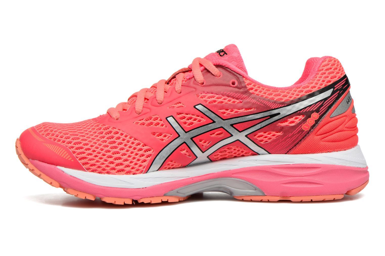 Chaussures de sport Asics Gel-Cumulus 18 W Rouge vue face