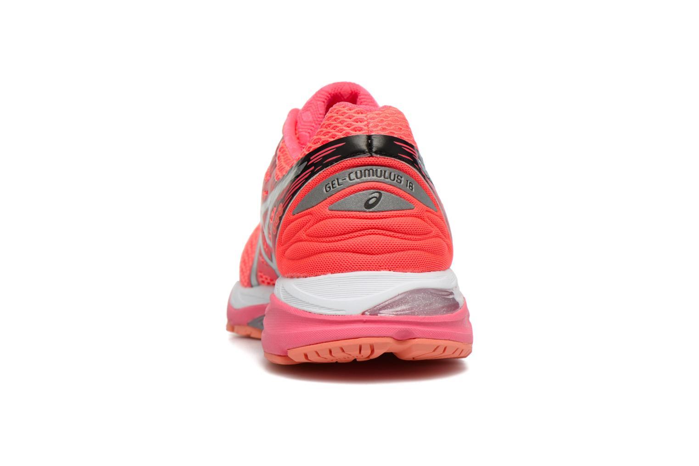 Chaussures de sport Asics Gel-Cumulus 18 W Rouge vue droite