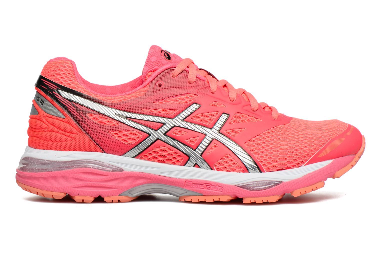 Chaussures de sport Asics Gel-Cumulus 18 W Rouge vue derrière