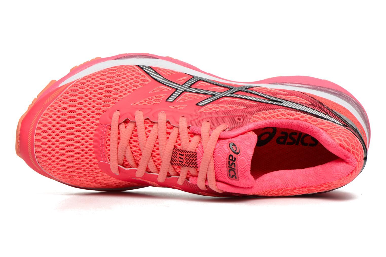 Chaussures de sport Asics Gel-Cumulus 18 W Rouge vue gauche