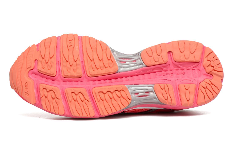 Chaussures de sport Asics Gel-Cumulus 18 W Rouge vue haut