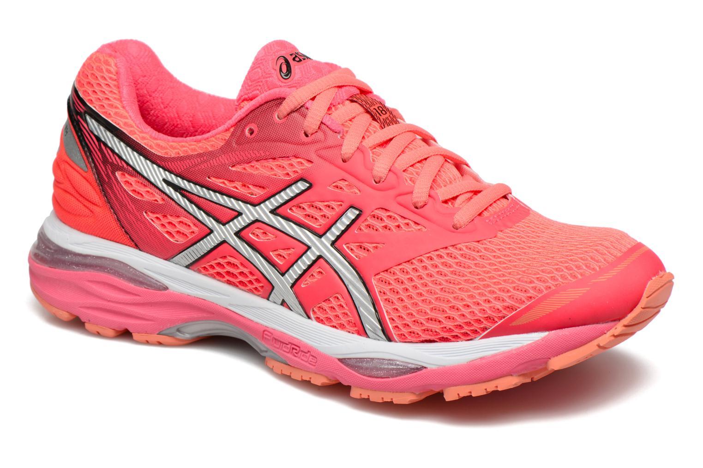 Chaussures de sport Asics Gel-Cumulus 18 W Rouge vue détail/paire