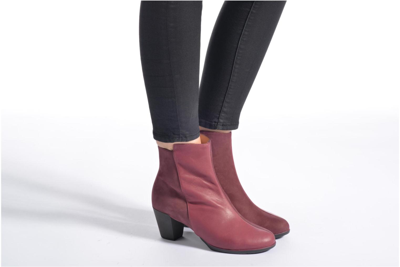 Bottines et boots TBS Katelyn Bordeaux vue bas / vue portée sac