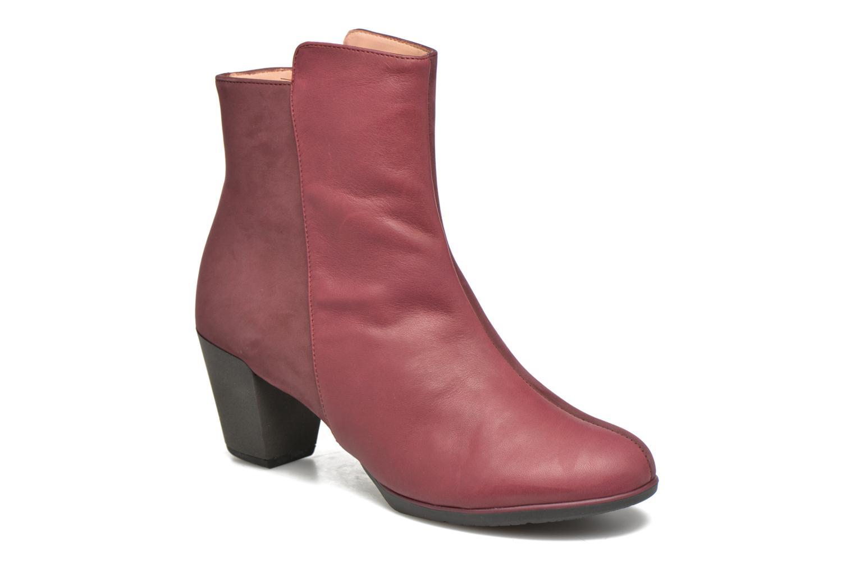 Bottines et boots TBS Katelyn Bordeaux vue détail/paire