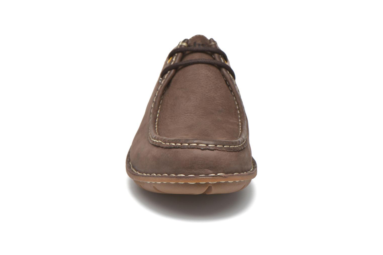 Chaussures à lacets TBS Yakari Marron vue portées chaussures